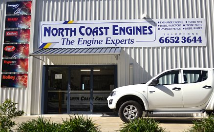 North Coast Engines Building